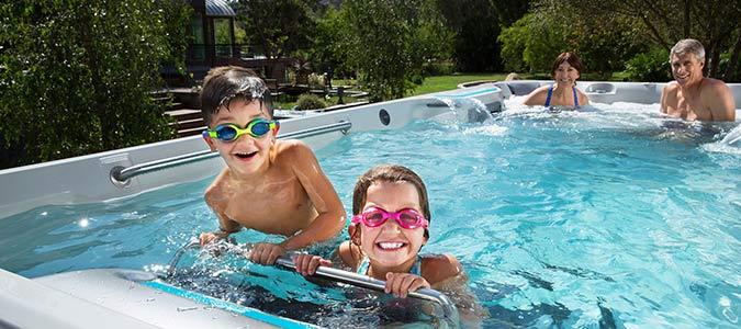 Endless Pools Family Image