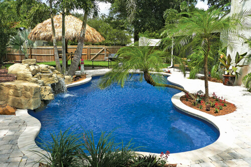Fiberglass Pools Family Image