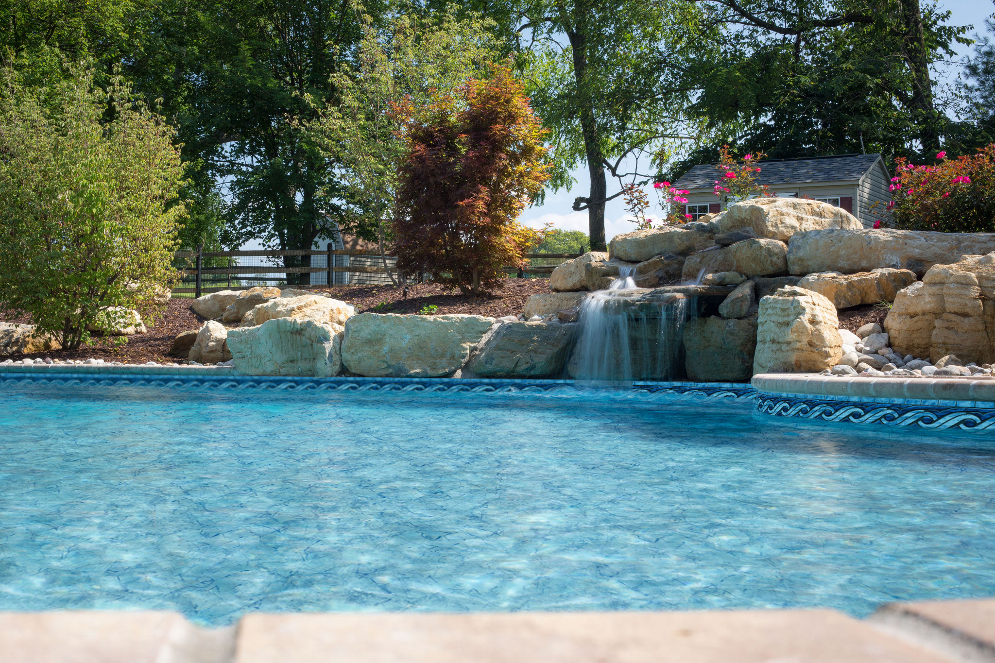 Tara vinyl pool liners aqua pro pool spa - Whitefish bay pool open swim hours ...