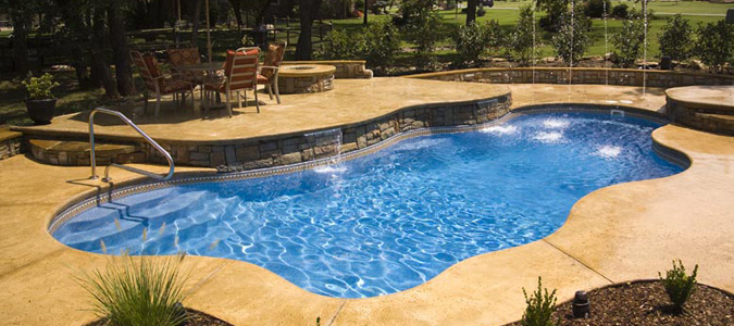 Viking Fiberglass Pools Family Image