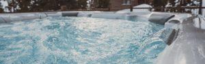 Hot Spring Limelight spas at Aqua Pro